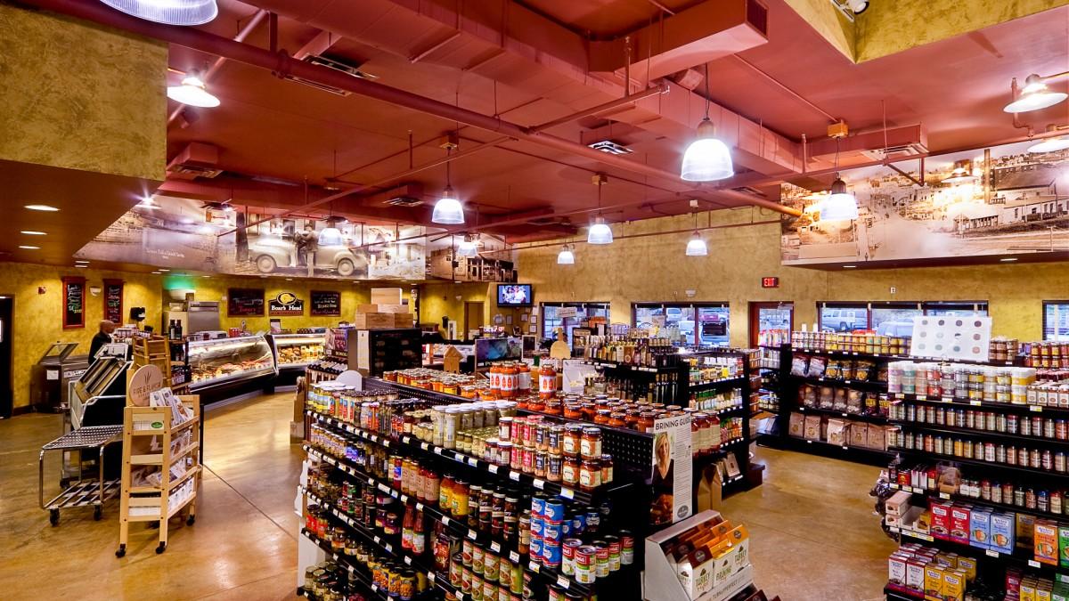 Look's Market Interior