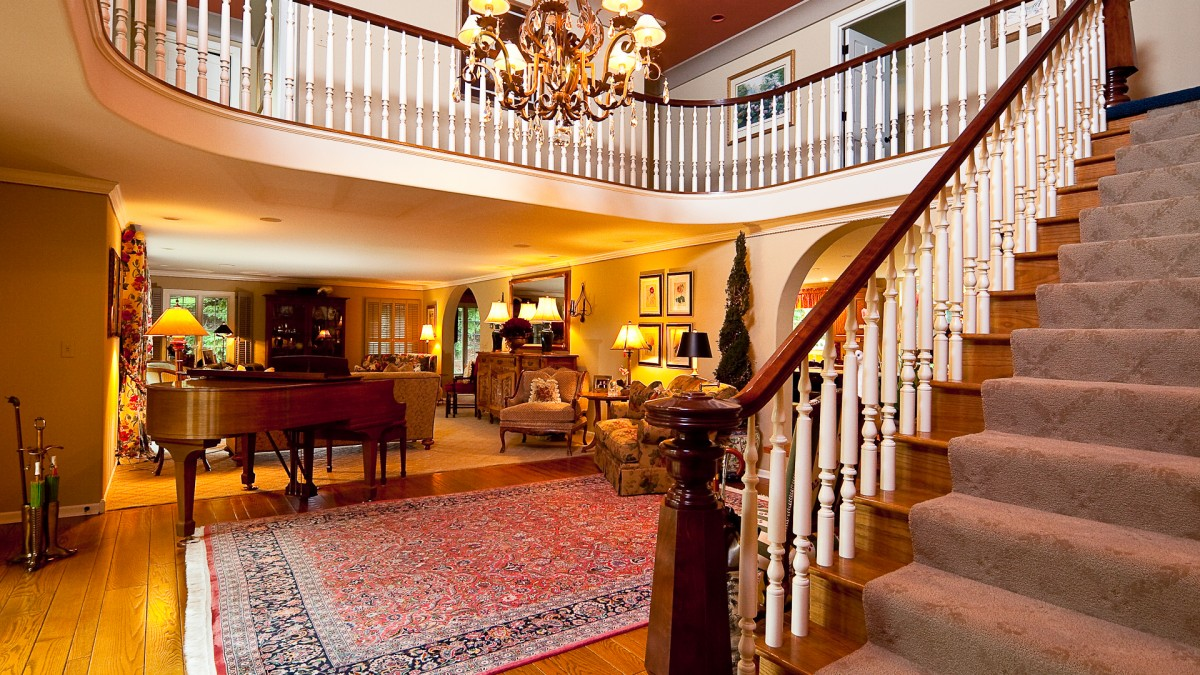 Colonial Home Foyer